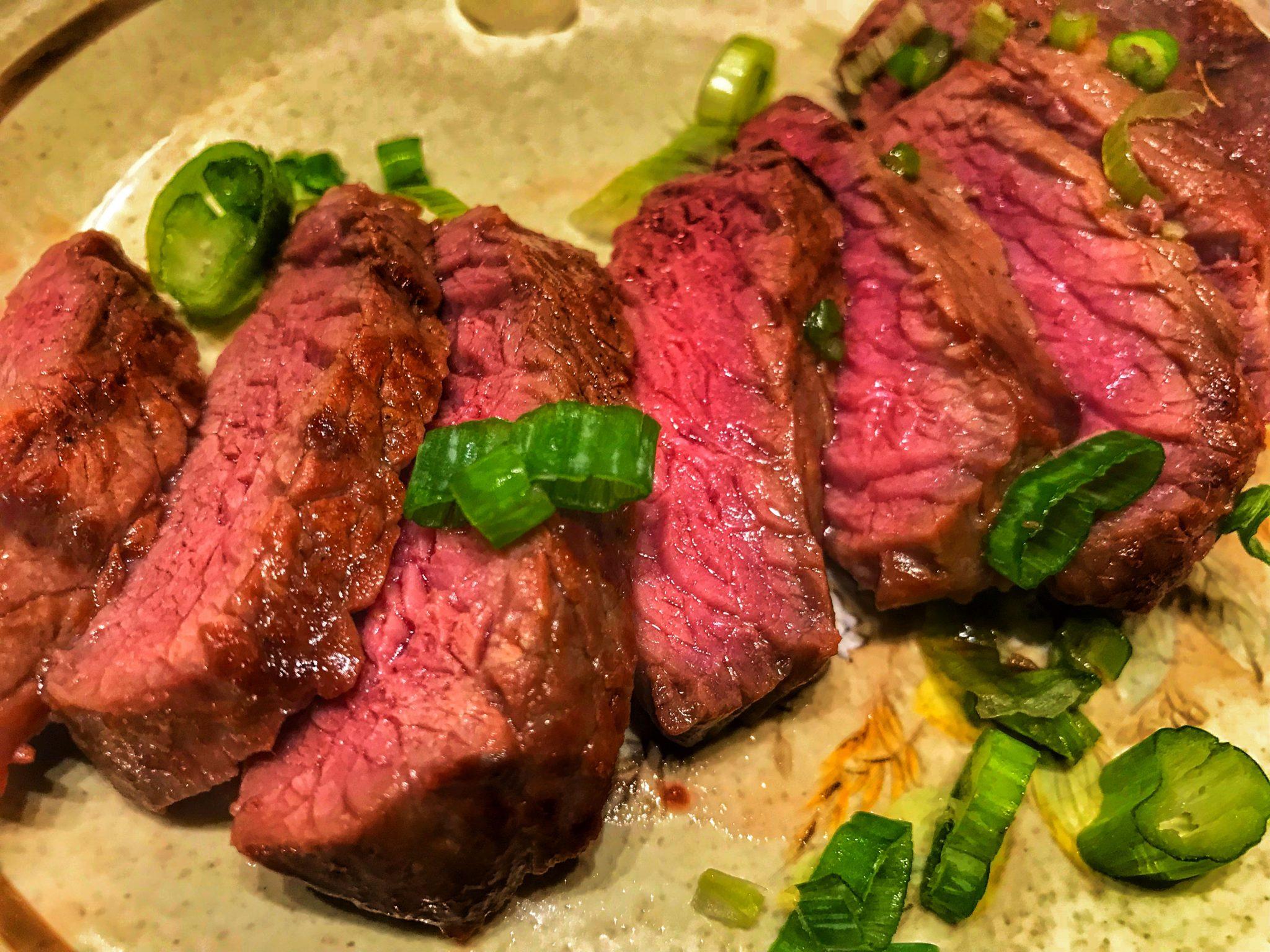 Korean Antelope Steak